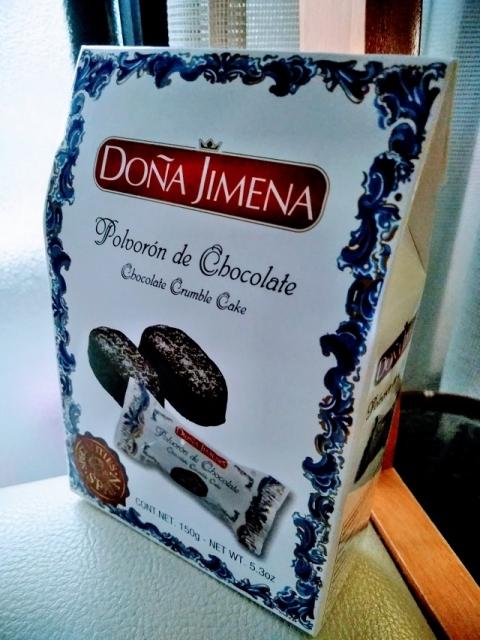 スペイン製チョコレートポルボロン「ドニャ・ヒメナ」1