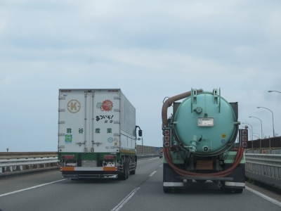 日本一暑いトラック