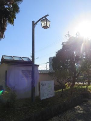 名古屋市 堀川沿い街灯