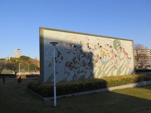 愛知県名古屋市 堀川沿い 壁画
