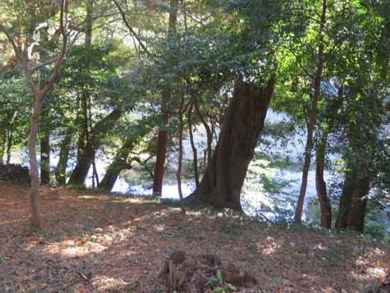 天白磐座遺跡(てんぱくいわくらいせき)神宮寺川