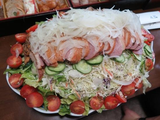 合鴨燻製サラダ