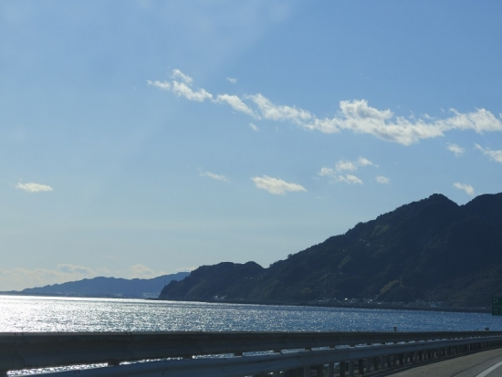 東名から海