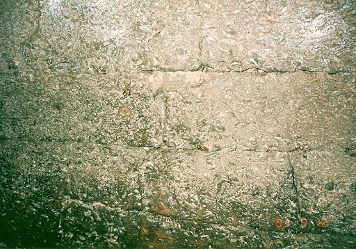 上福田岩屋古墳玄室側壁