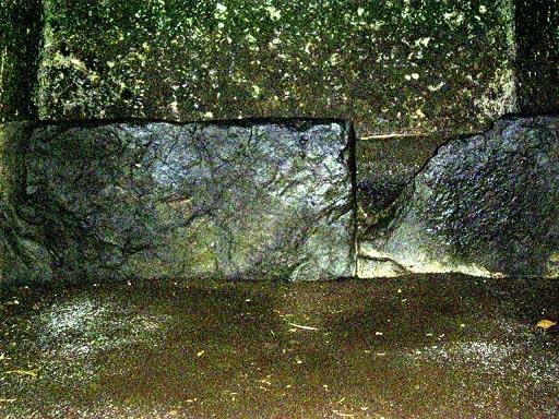 岩屋古墳西石室石棺