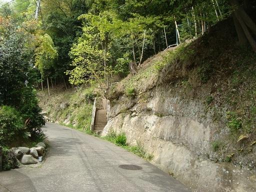 白坂横穴墓群入口