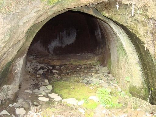 白坂横穴墓群右側横穴