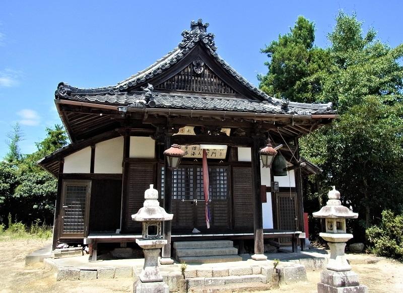 草津市・常教寺の観音堂