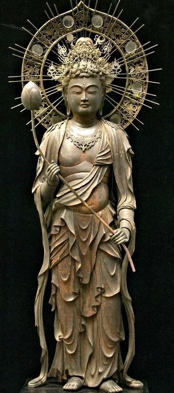 弥勒菩薩像~興福寺子院伝来、井上馨旧蔵