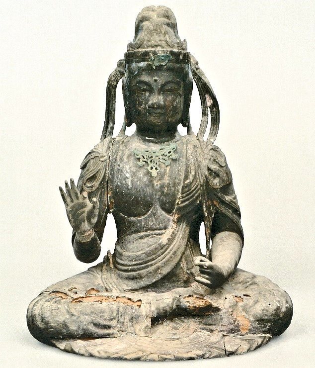長安寺・菩薩像