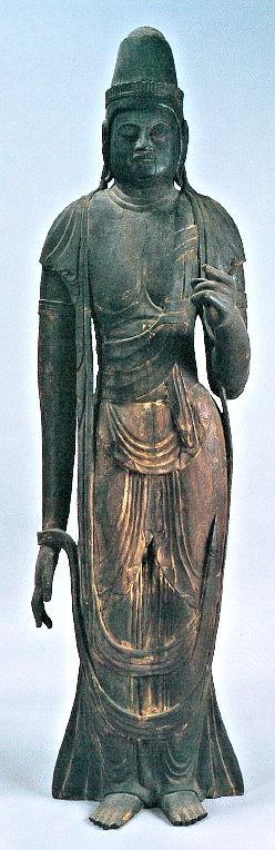 隠岐清水寺・聖観音像によく似る仏谷寺・伝日光菩薩像