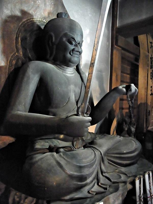 瑠璃寺・不動明王像