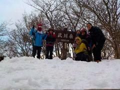 018武川岳山頂にて