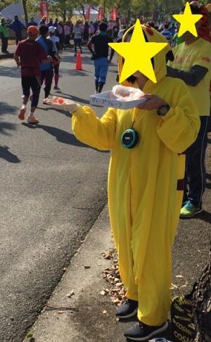 奈良マラソンの応援