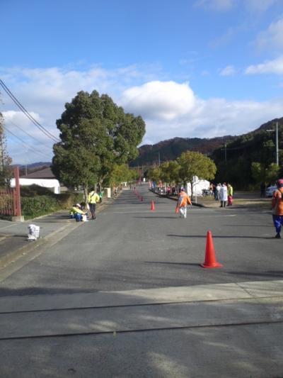 奈良マラソンの応援3