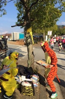 奈良マラソンの応援2