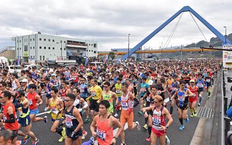 別大マラソン2018