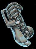 古代の機械究極巨人の右手
