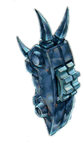 古代の機械究極巨人の左手