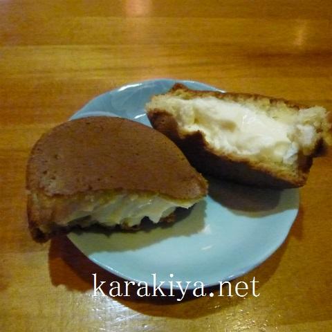 s48020171227チーズクリーム今川焼きと真澄純米吟醸辛口生 (2)