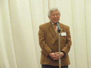 安田文吉東海学園大学教授 乾杯のご発声