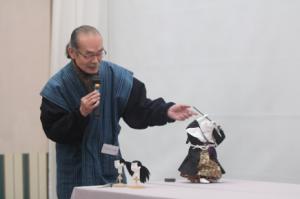 NHK「Rの法則スペシャル 大江戸ロボコン」で活躍した弁慶と牛若丸の頭