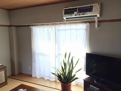 窓&エアコン