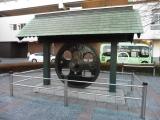 JR小金井駅 C57形蒸気機関車動輪