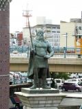 JR倉敷駅 ヴァイキング像3