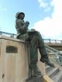 JR倉敷駅 アンデルセン広場のアンデルセン像