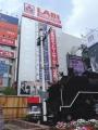JR新橋駅 C11形292号機 腕木式信号機
