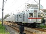 東急7700系7901F蒲田行き 沼部-鵜の木にて