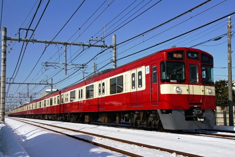 2018年1月23日 秋津~清瀬にて (3)