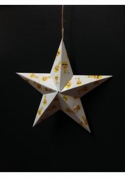 パンイチくんのお星様折り紙
