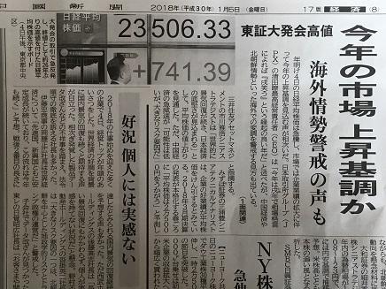1052018 日経大発会相場S1