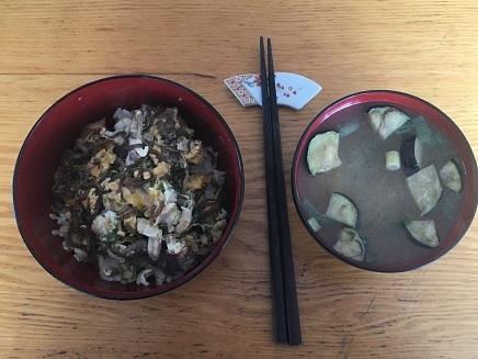 1072018 肉丼LunchS