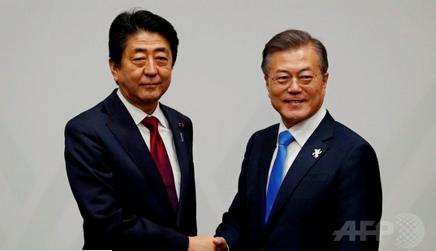 2092018 日韓首脳会談at平昌S2