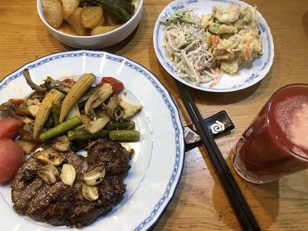 2182018 夕飯SteakS