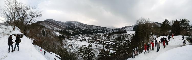 NHKゆく年くる年2017~2018年の中継場所はどこ?白川郷 15