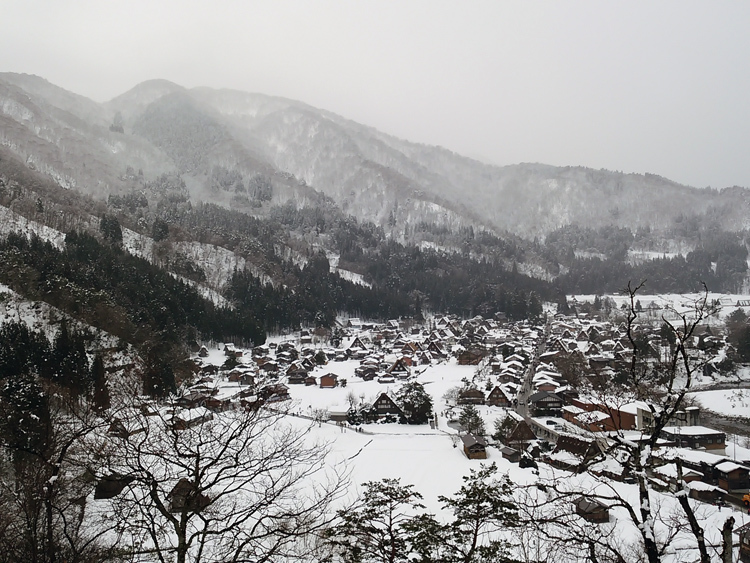 2018年新春元旦 世界遺産白川郷 春駒踊り~10