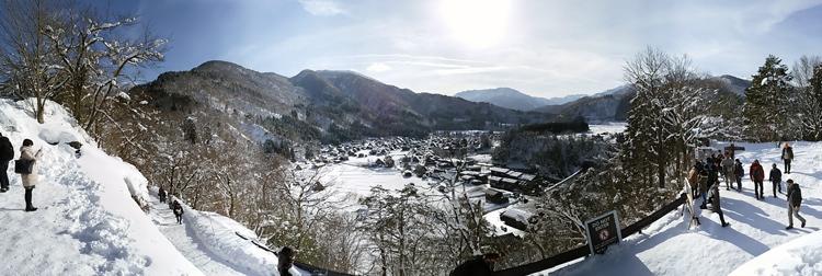 新年最初の旅行には是非、世界遺産 白川郷で♪1
