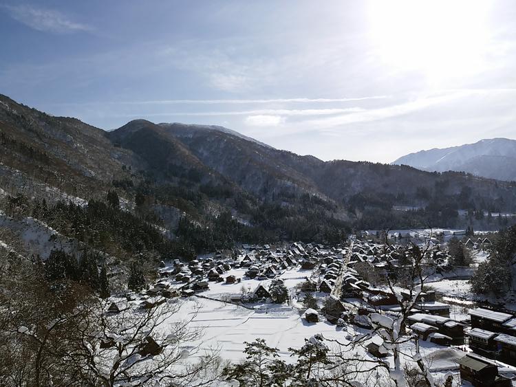 新年最初の旅行には是非、世界遺産 白川郷で♪3