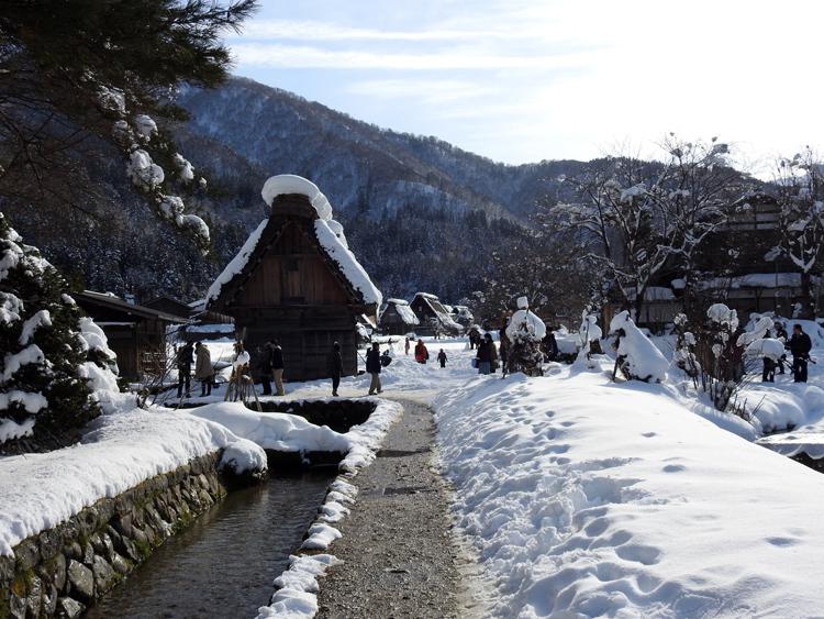 新年最初の旅行には是非、世界遺産 白川郷で♪8