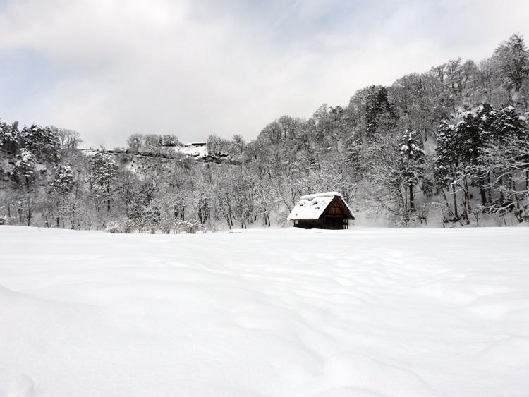 冬景色に彩られた世界遺産を、どうぞのんびりと満喫1