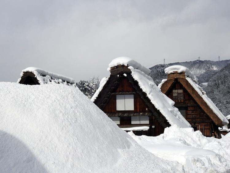 冬景色に彩られた世界遺産を、どうぞのんびりと満喫3
