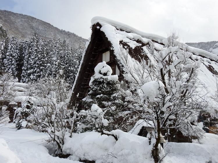 冬景色に彩られた世界遺産を、どうぞのんびりと満喫5