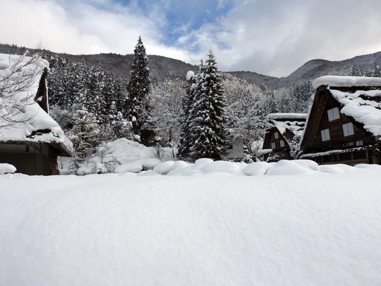 冬景色に彩られた世界遺産を、どうぞのんびりと満喫6