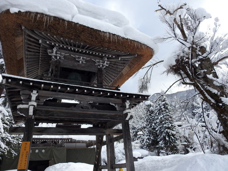 冬景色に彩られた世界遺産を、どうぞのんびりと満喫7