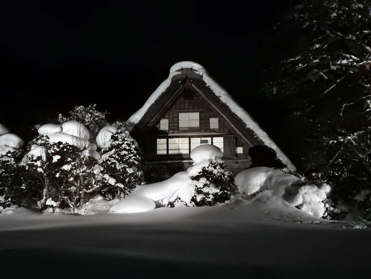 1月28日 第2回白川郷ライトアップ1
