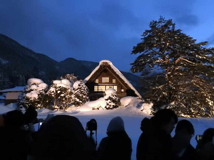 1月28日 第2回白川郷ライトアップ3